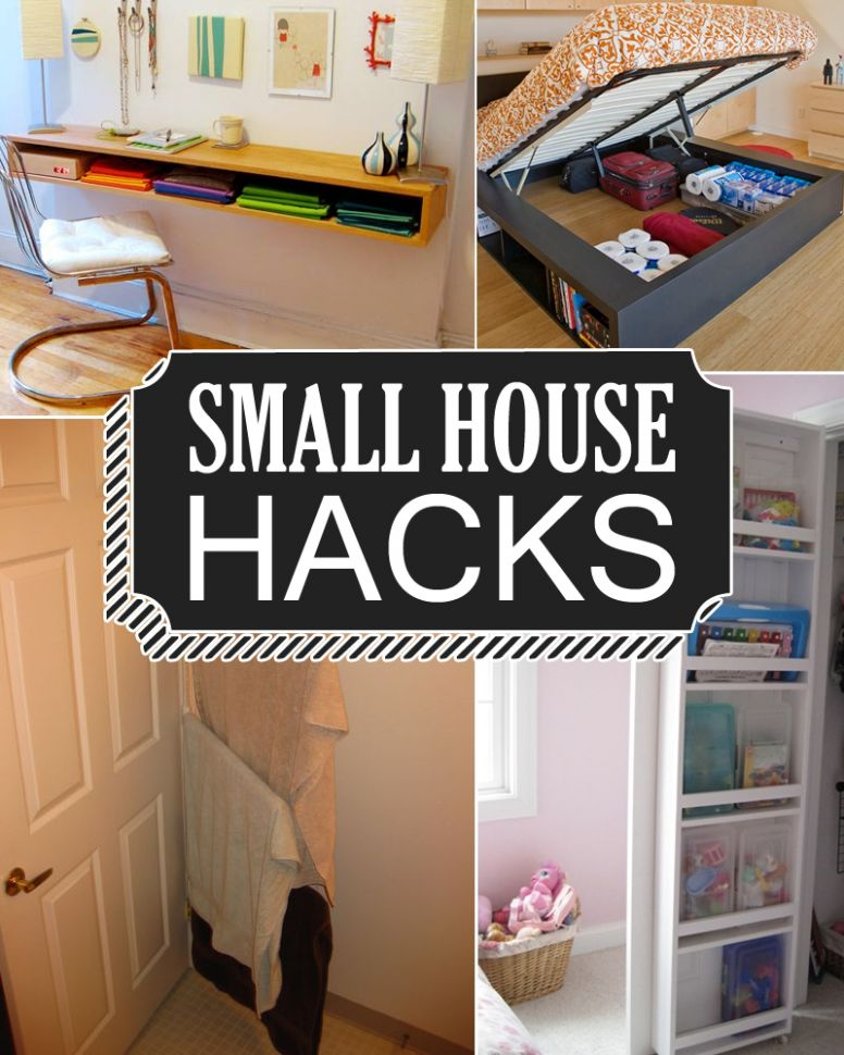 11 Small House Hacks to Maximize And Enlarge Your Space - tiny house hacks