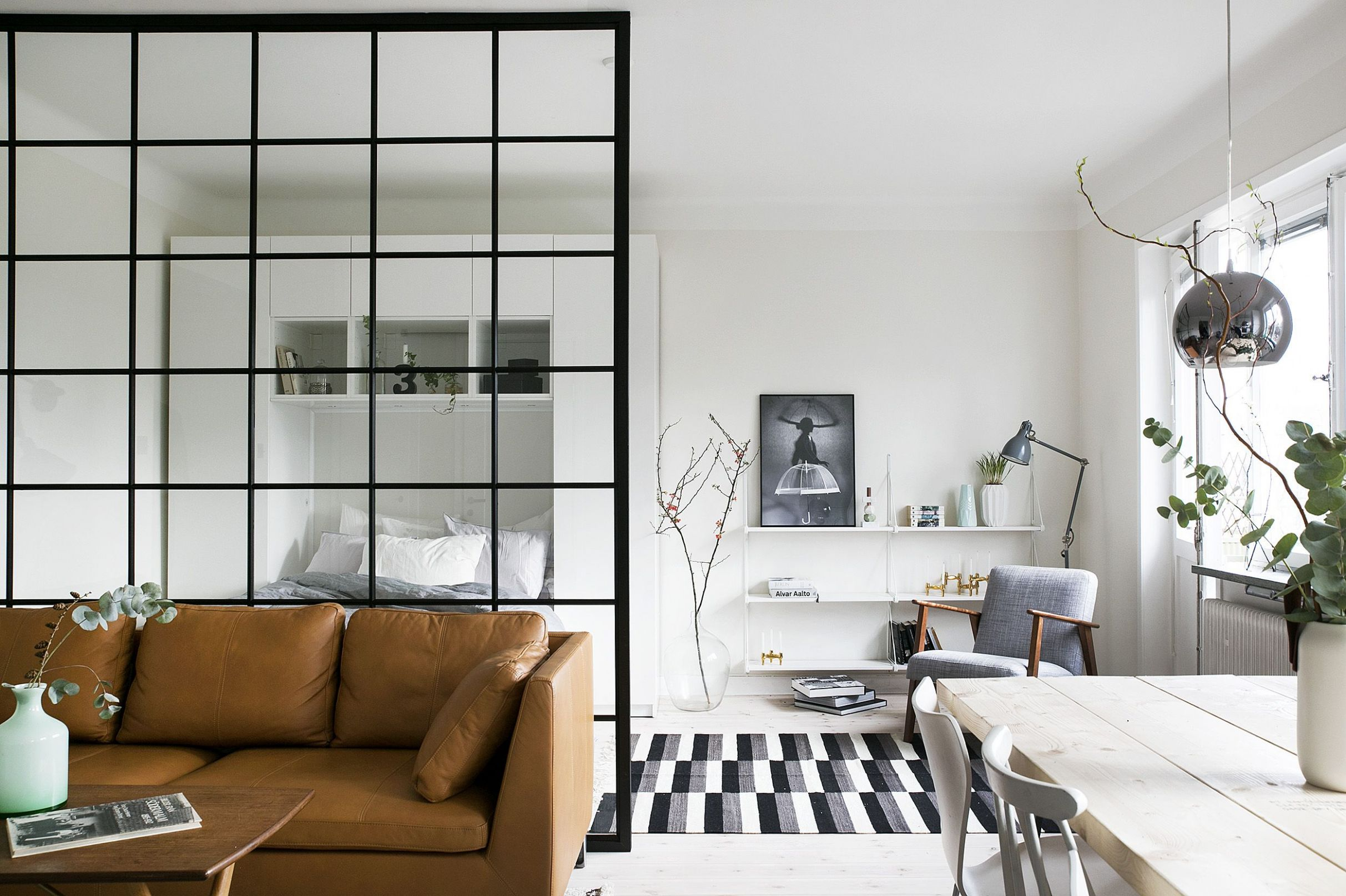 11 Small House Interior Design Ideas - How to Decorate a Small Space - apartment design ideas