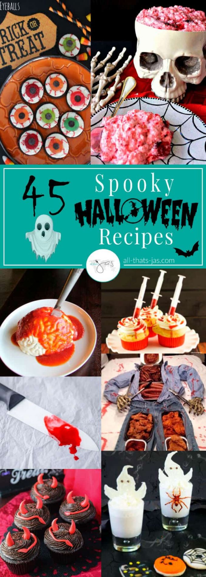 11 Spooky Halloween Recipes & Party Ideas | All That's Jas