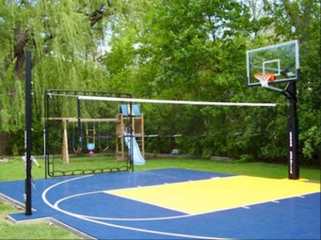 11 sport court backyard ideas (11) - LivingMarch.com | Volleyball ...