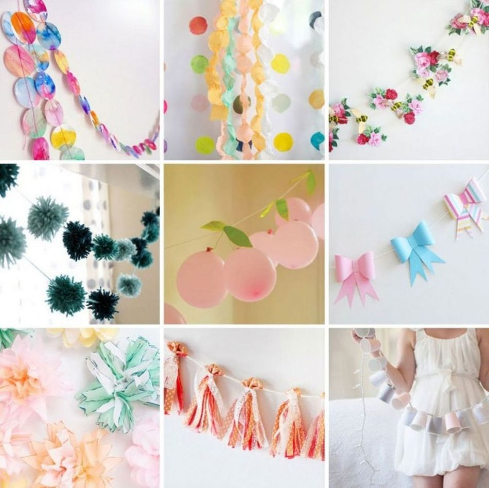 11 Spring Garlands to Spruce Up Your Space - Brit + Co - window garland ideas spring