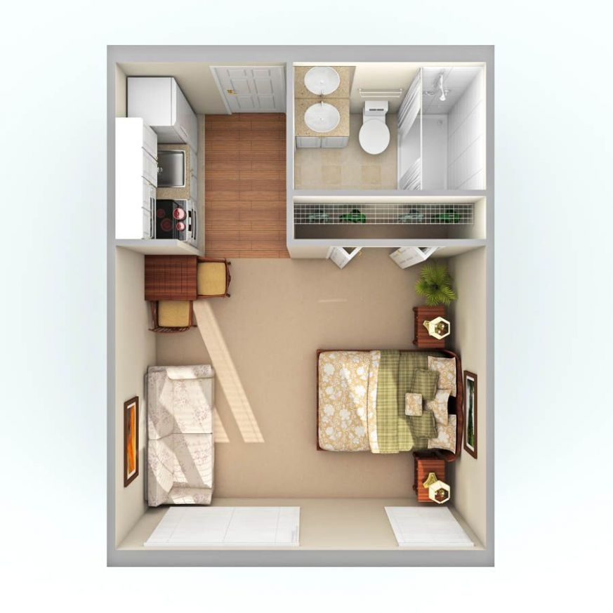 11 Studio Apartment Ideas and Design that Boost Your Comfort ...