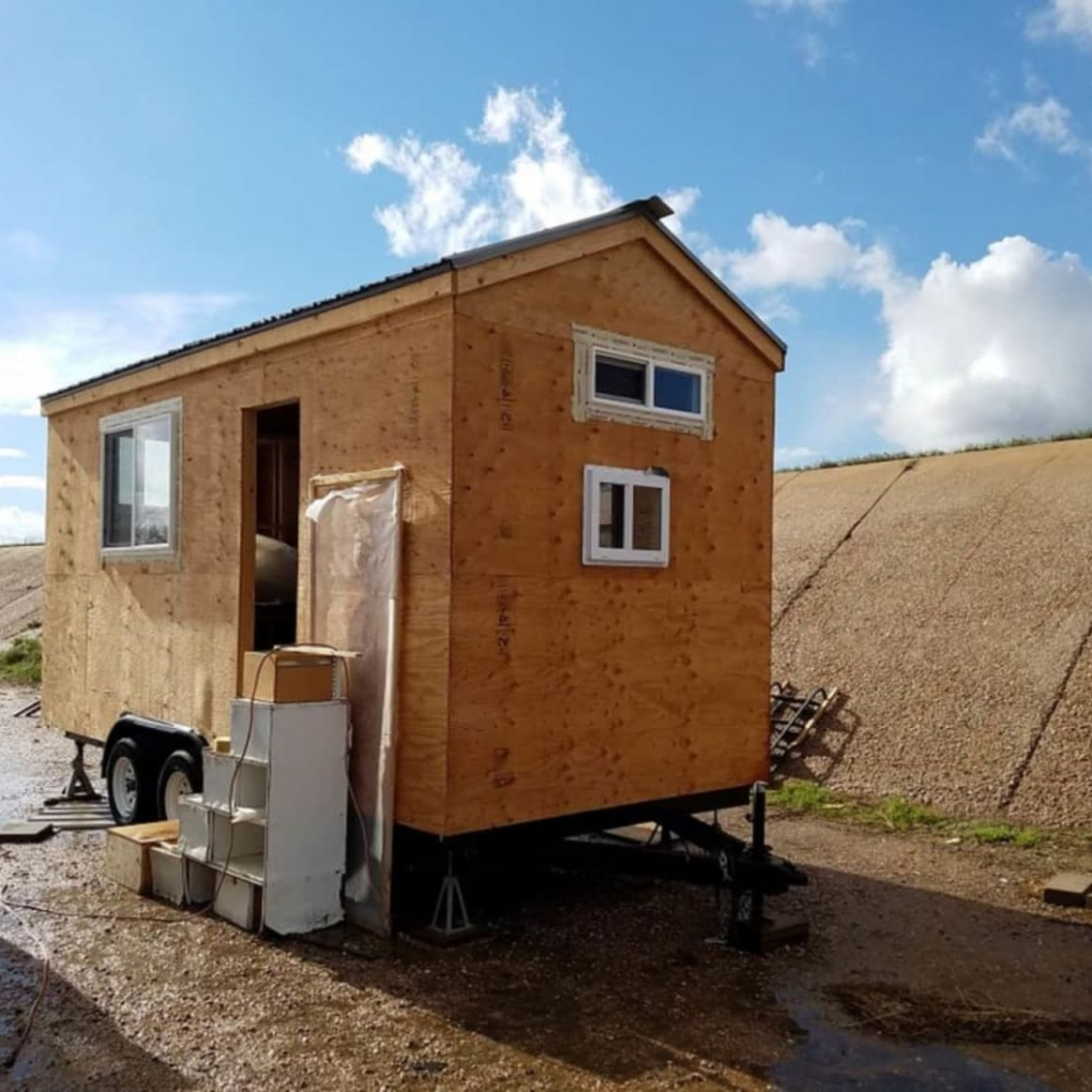 11' Tiny House Shell (Final Price Drop!) - Tiny House Shell for Sale in  Boulder, Colorado - Tiny House Listings