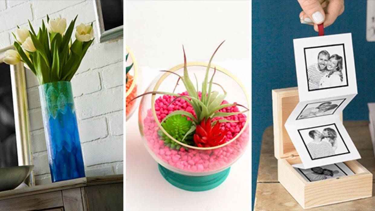 11 Unique DIY Home Decor Gifts You Can Make In No Time