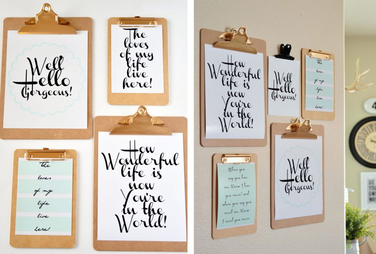 11 Unique DIY Wall Art Ideas (With Printables) | Shutterfly