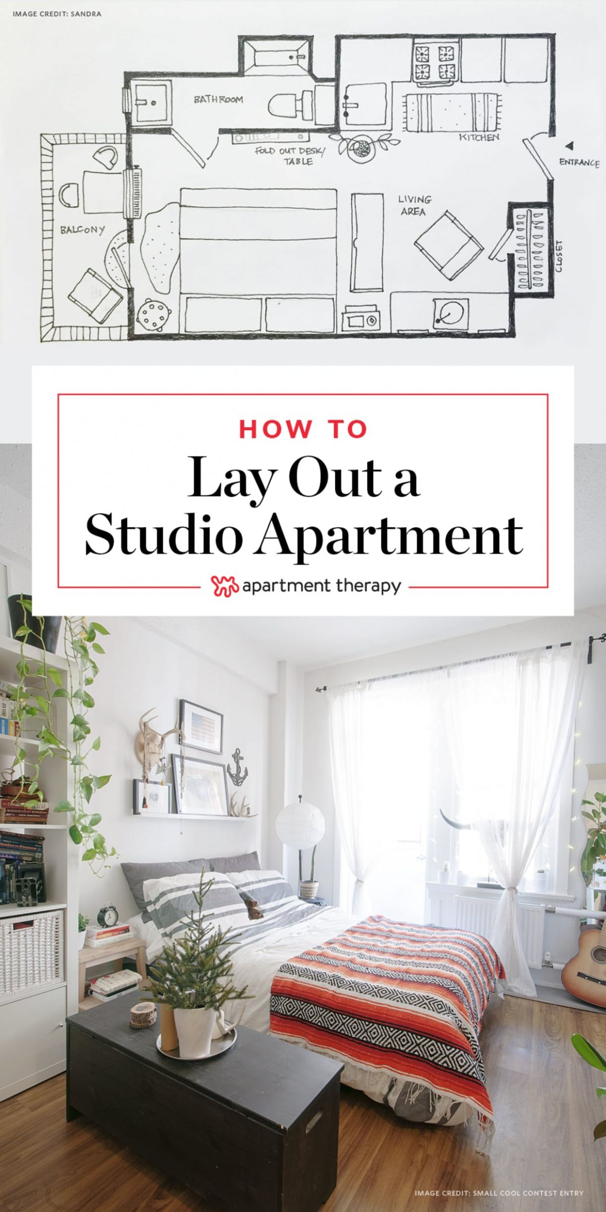 11 Ways to Lay Out a Studio Apartment | Apartment Therapy - apartment design layout ideas
