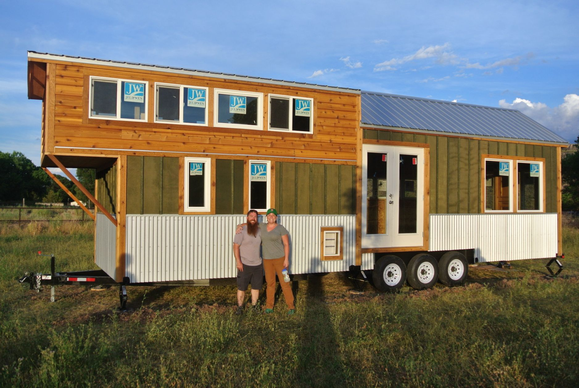 11'x11' Moby Dick Tiny House Shell - Rocky Mountain Tiny Houses
