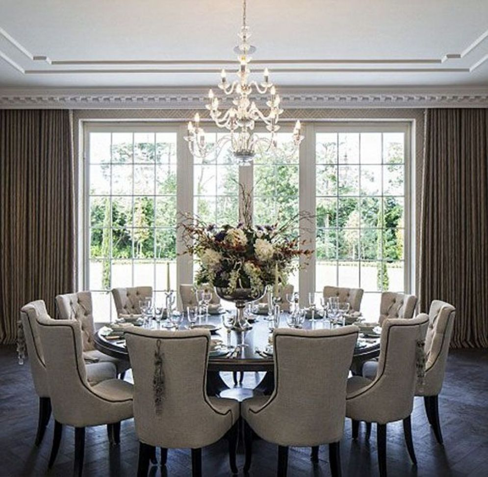 12 Adorable Family Dining Room Decorating Ideas | Elegant dining ..