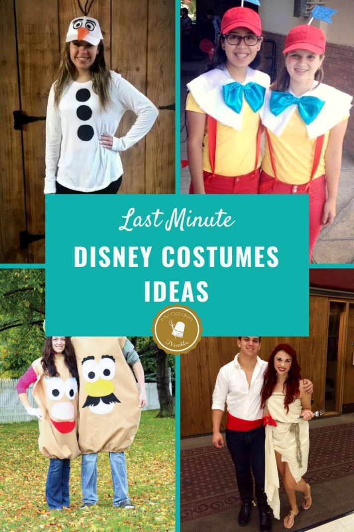 12 Amazing and Easy Disney Costumes to sew this Halloween | Easy ...