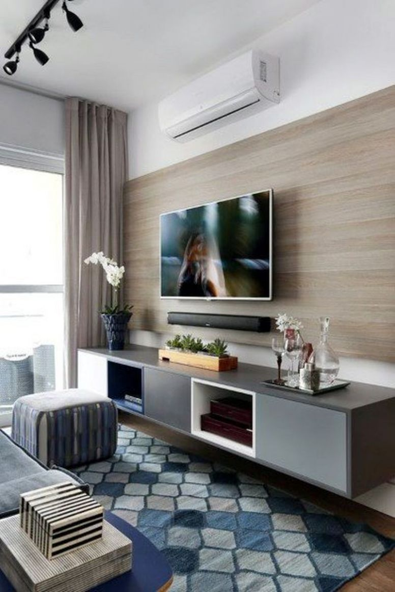 12 Amazing TV Wall Decor Ideas for Living Room - Deconeat
