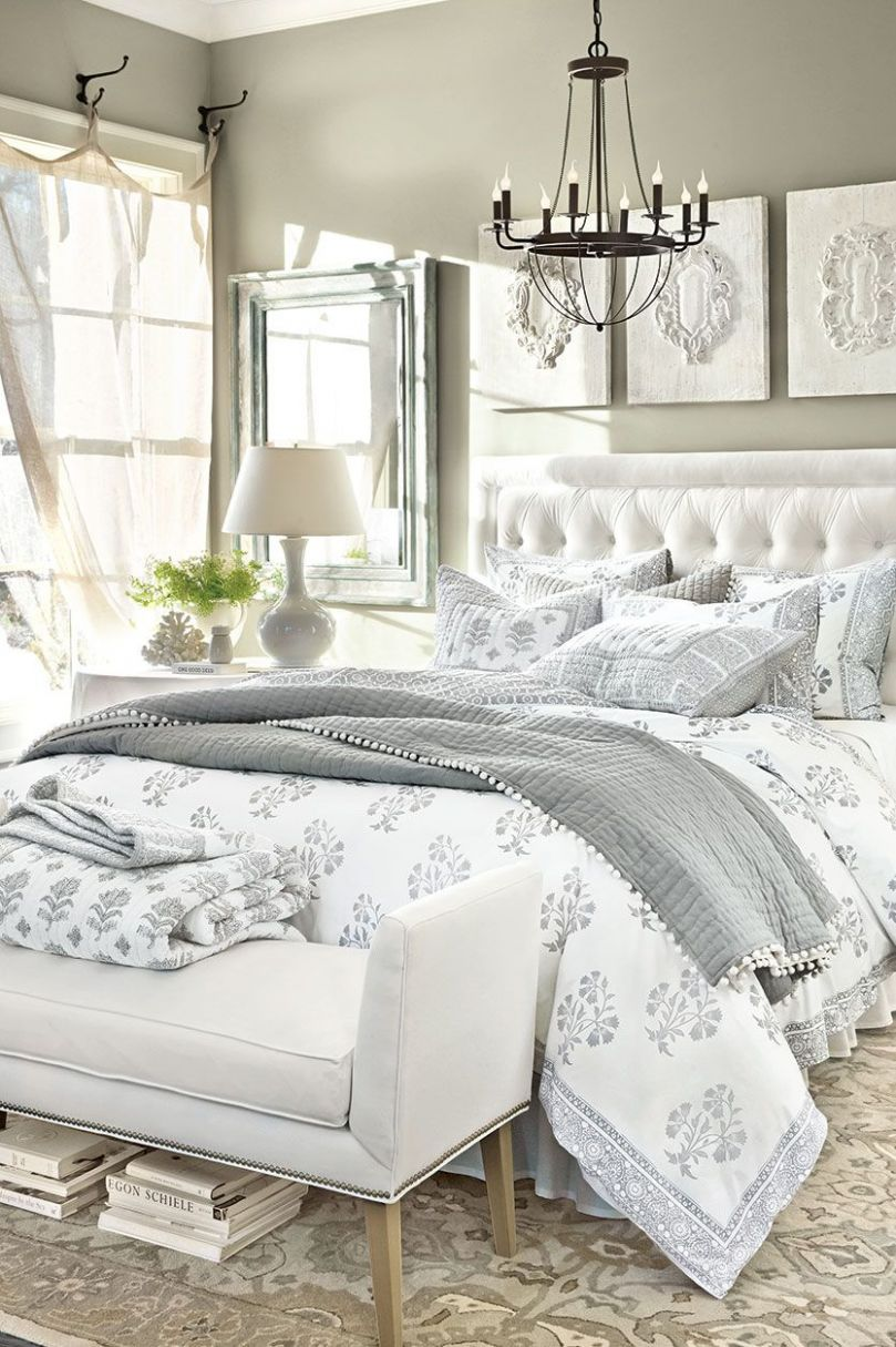 12 Anything-but-Boring Neutral Bedrooms | White bedroom decor ..