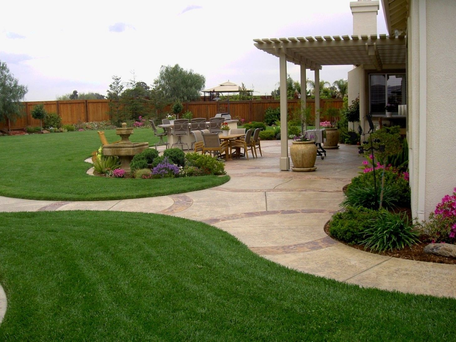 12 Awesome Concepts of How to Improve Backyard Landscape Designs ..