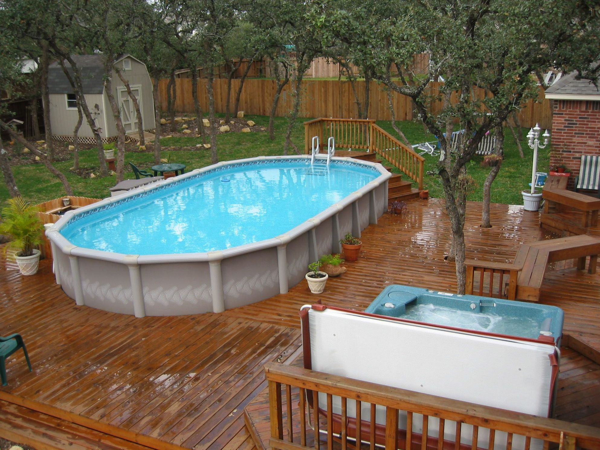 12+ Awesome Pool Fence Ideas for Privacy and Protection ..