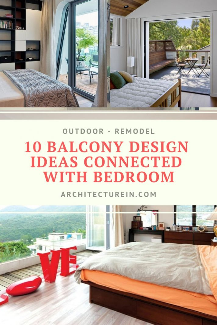 12 Balcony Design Ideas Connected With Bedroom | ArchitectureIn - balcony bedroom ideas