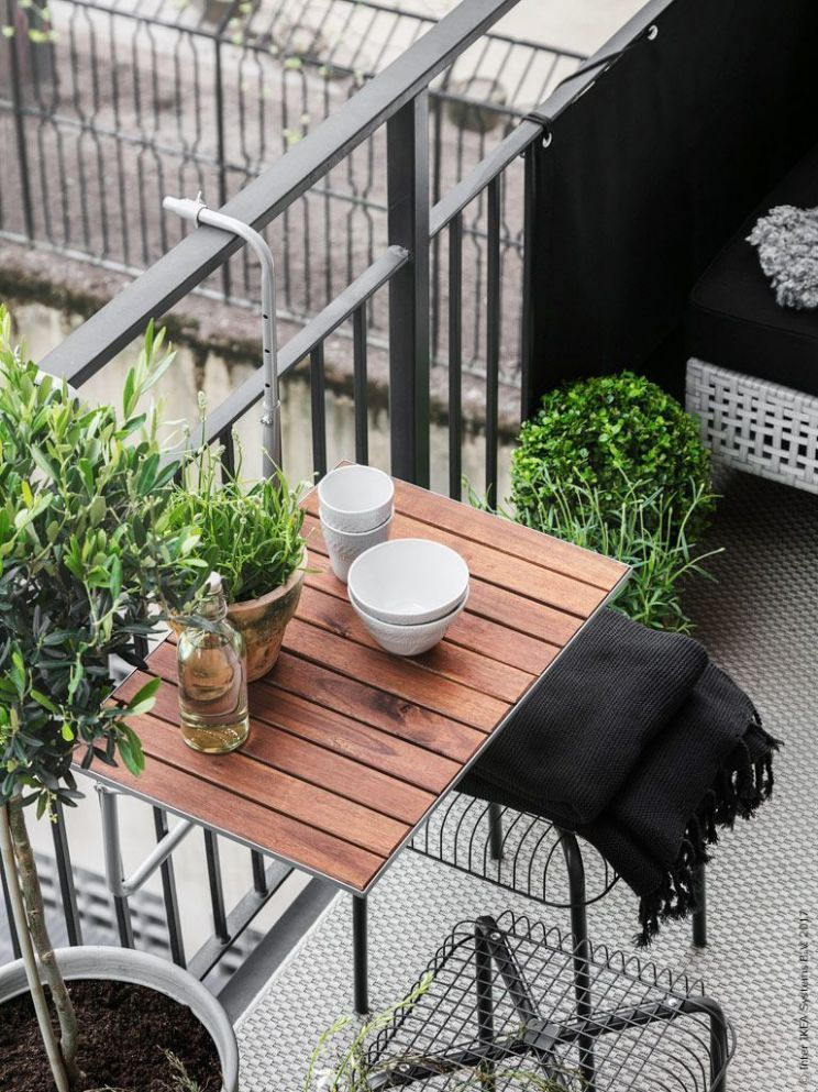 12+ Balcony Table Ideas For Your Lovely Home/Apartment | Small ..