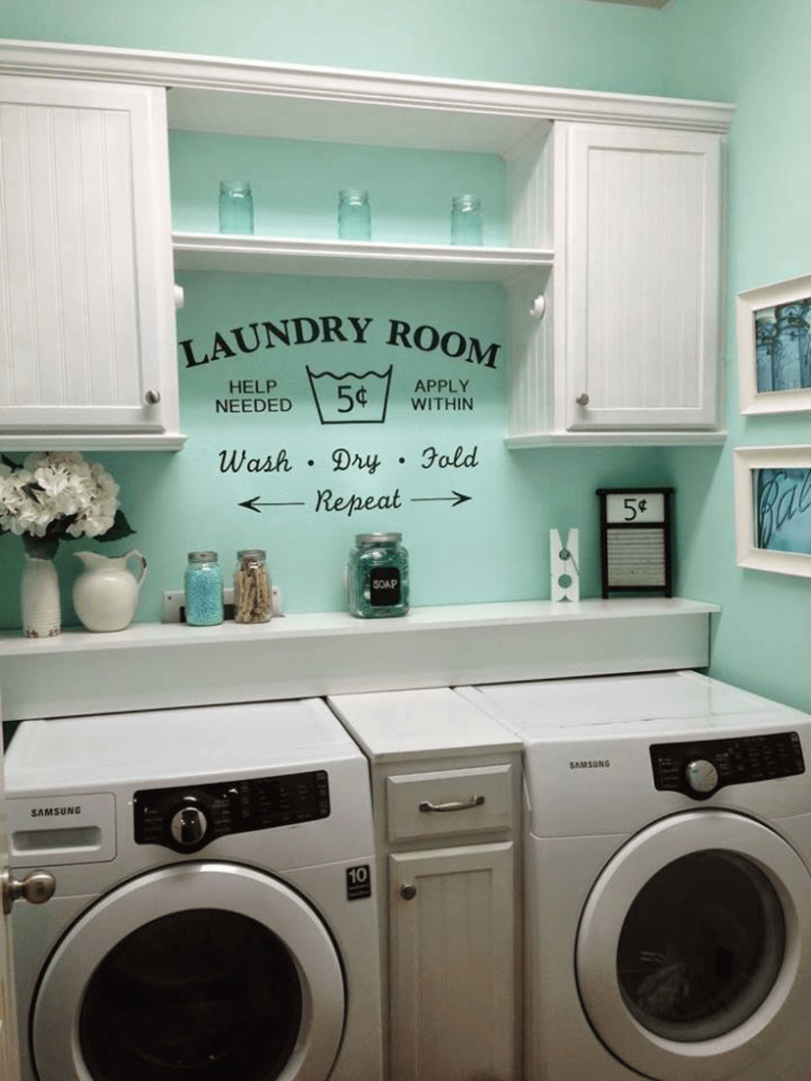 12 Basement Laundry Room ideas for Small Space (Makeovers)