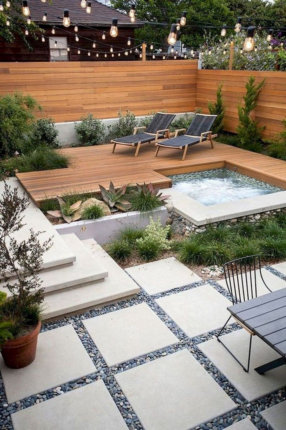 12+ Beautiful Small Backyard Makeover s Ideas On A Budget - WOWDECORA - backyard makeover ideas