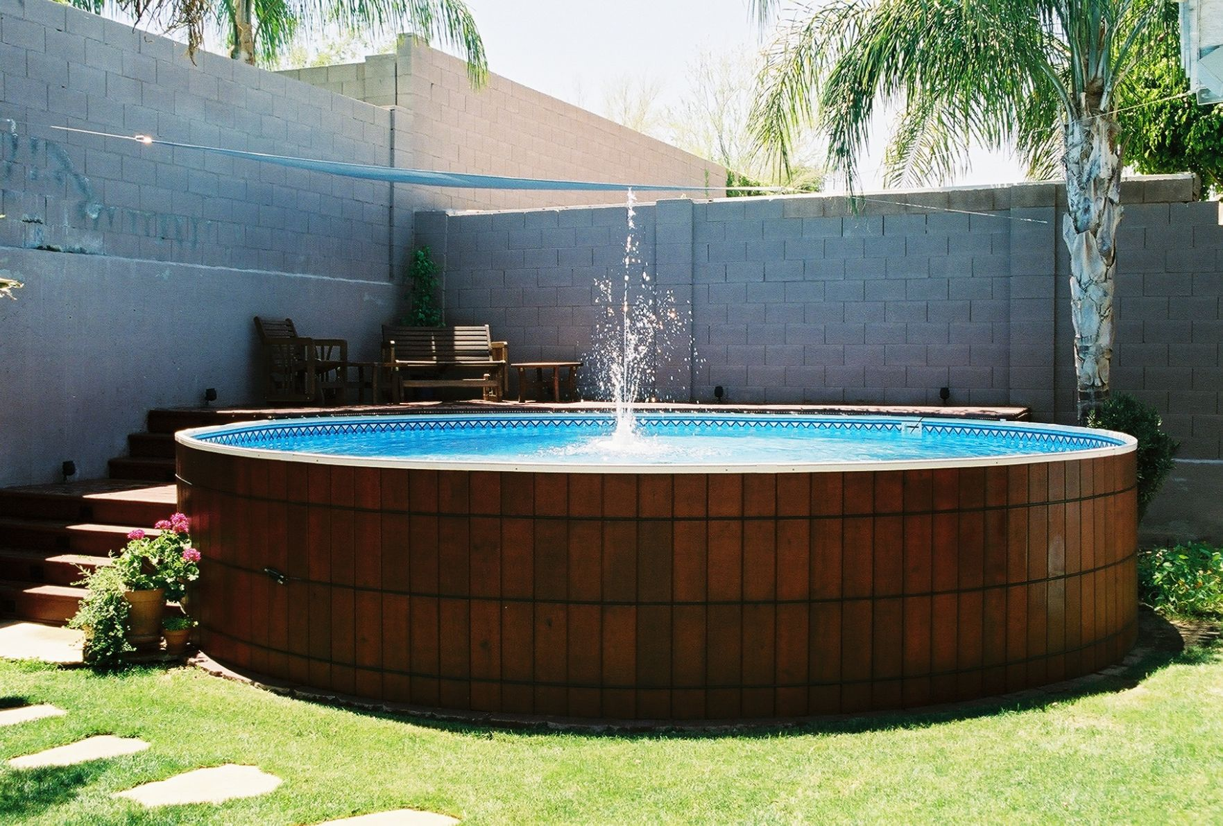 12 Best Above Ground Pool Ideas With Building Tips | Decor Or Design - pool ideas diy