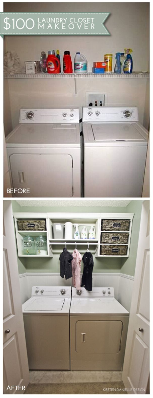 12 Best Budget Friendly Laundry Room Makeover Ideas and Designs ..