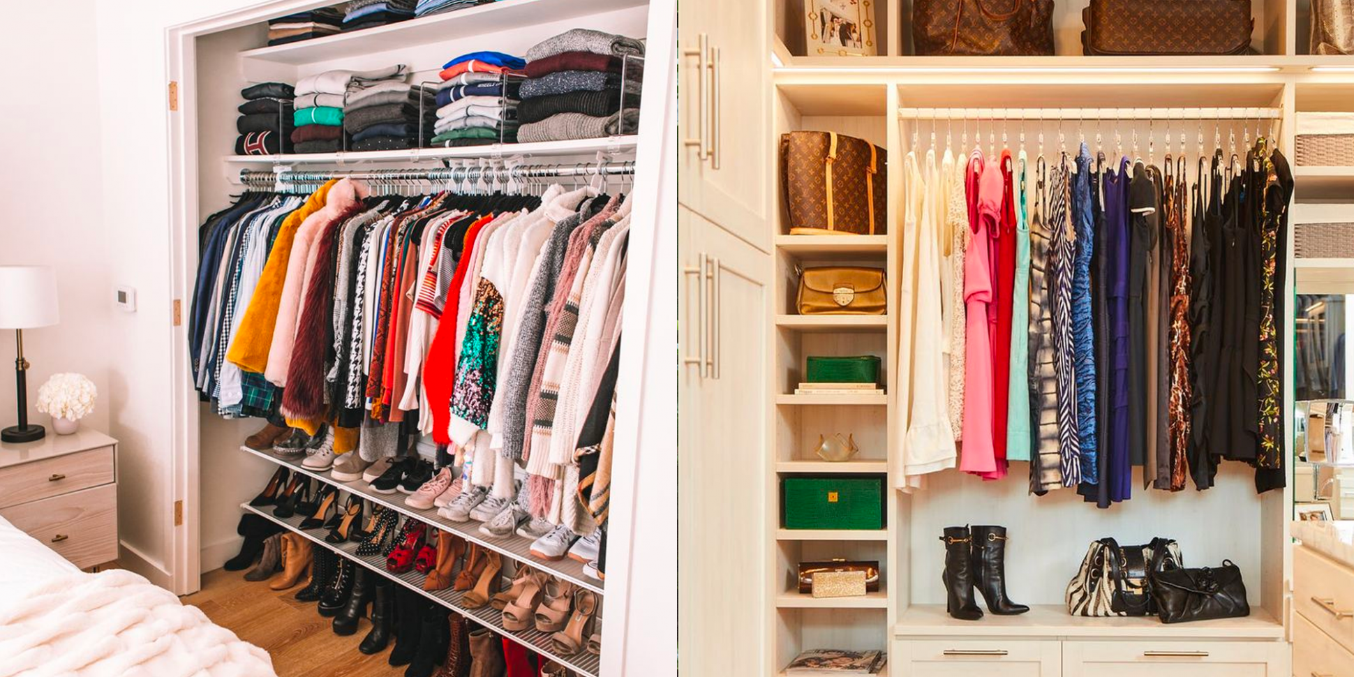 12 Best Closet Organizing Ideas