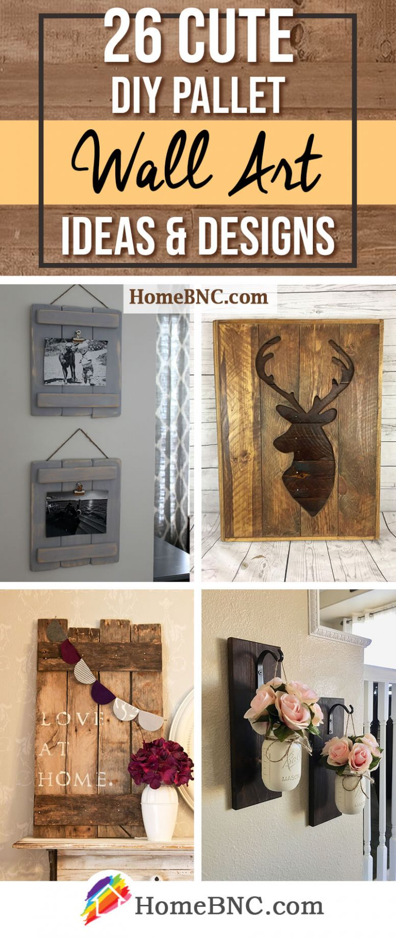 12 Best DIY Pallet Wall Decor and Art Ideas for 12 - diy home decor with pallets