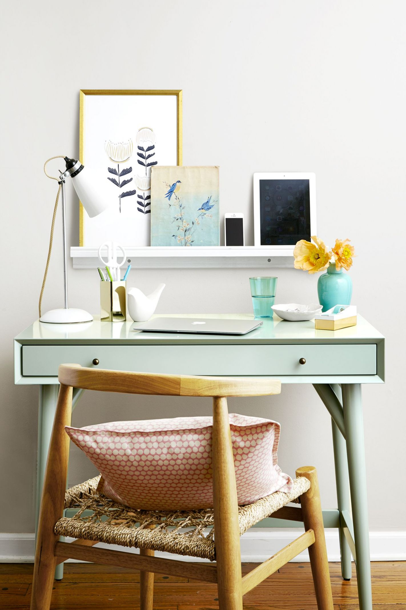 12 Best Home Office Decorating Ideas - Decor and Organization for ...