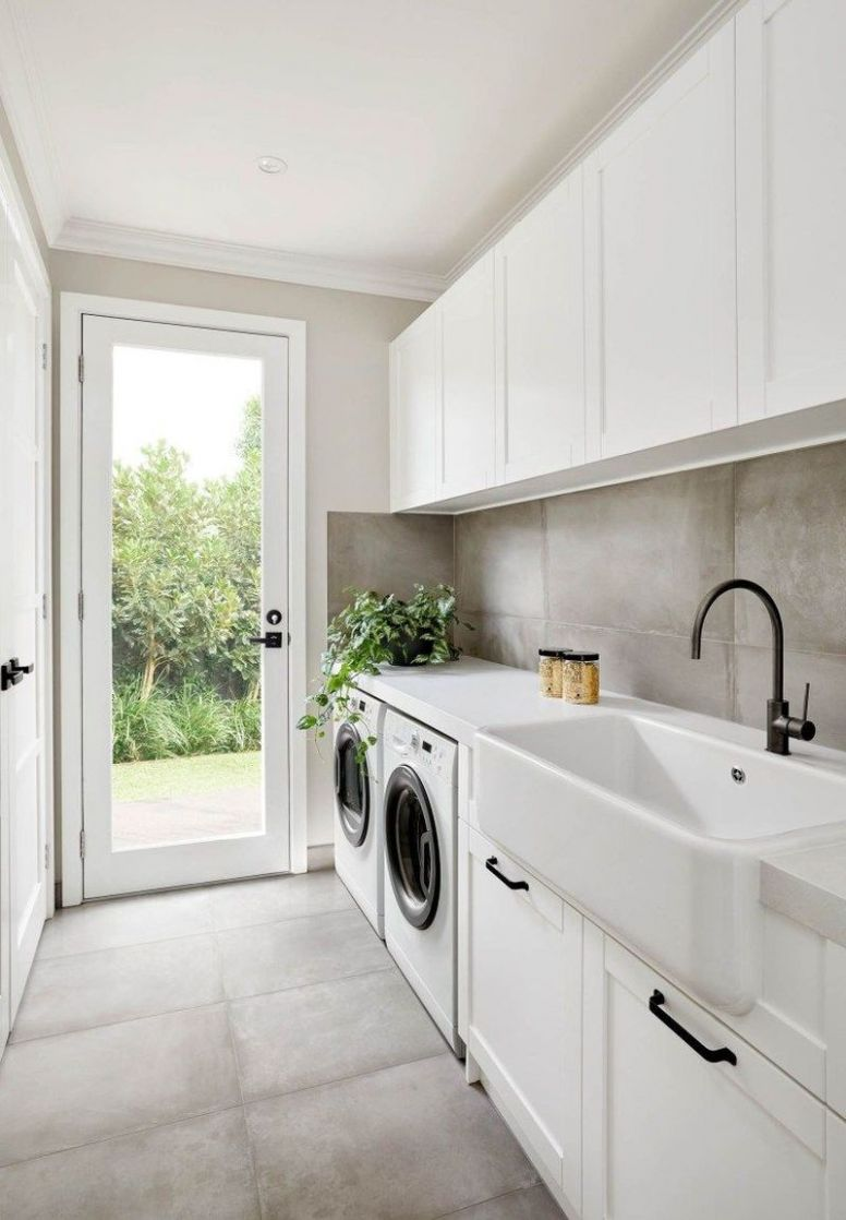 12 Best Minimalist Laundry Room Design Ideas You Must Try - laundry room remodel ideas