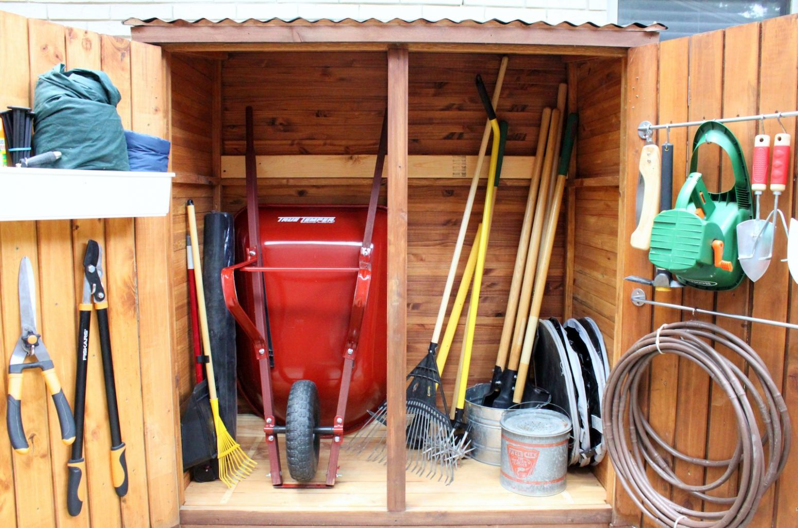 12 Bodacious Backyard Storage Ideas, Tips & Hacks You Need To Try - pool storage ideas