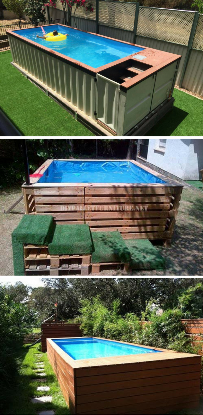 12 Brilliantly Awesome DIY Backyard Pool Ideas! | Backyard, Diy ..