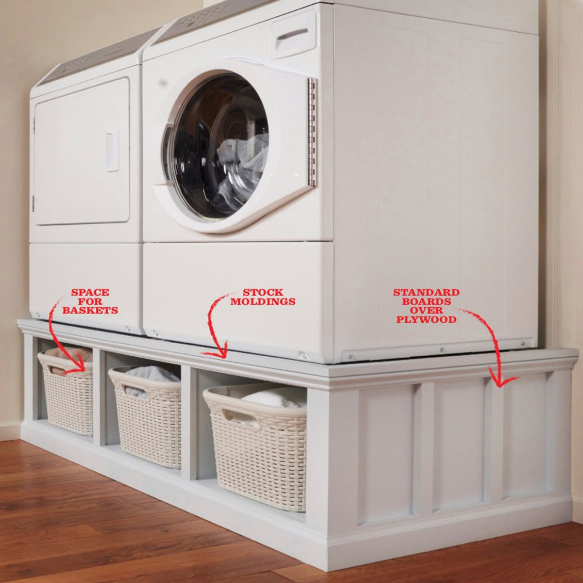 12 Cheap Laundry Room Ideas You Can DIY Today! | Family Handyman - laundry room bin ideas