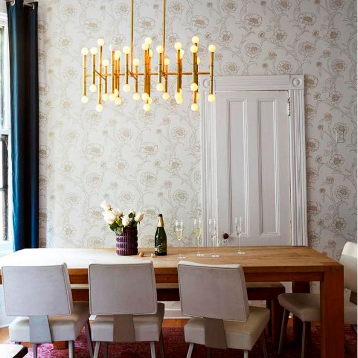 12 Clever Small Dining Room Ideas | Taste of Home - narrow dining room ideas