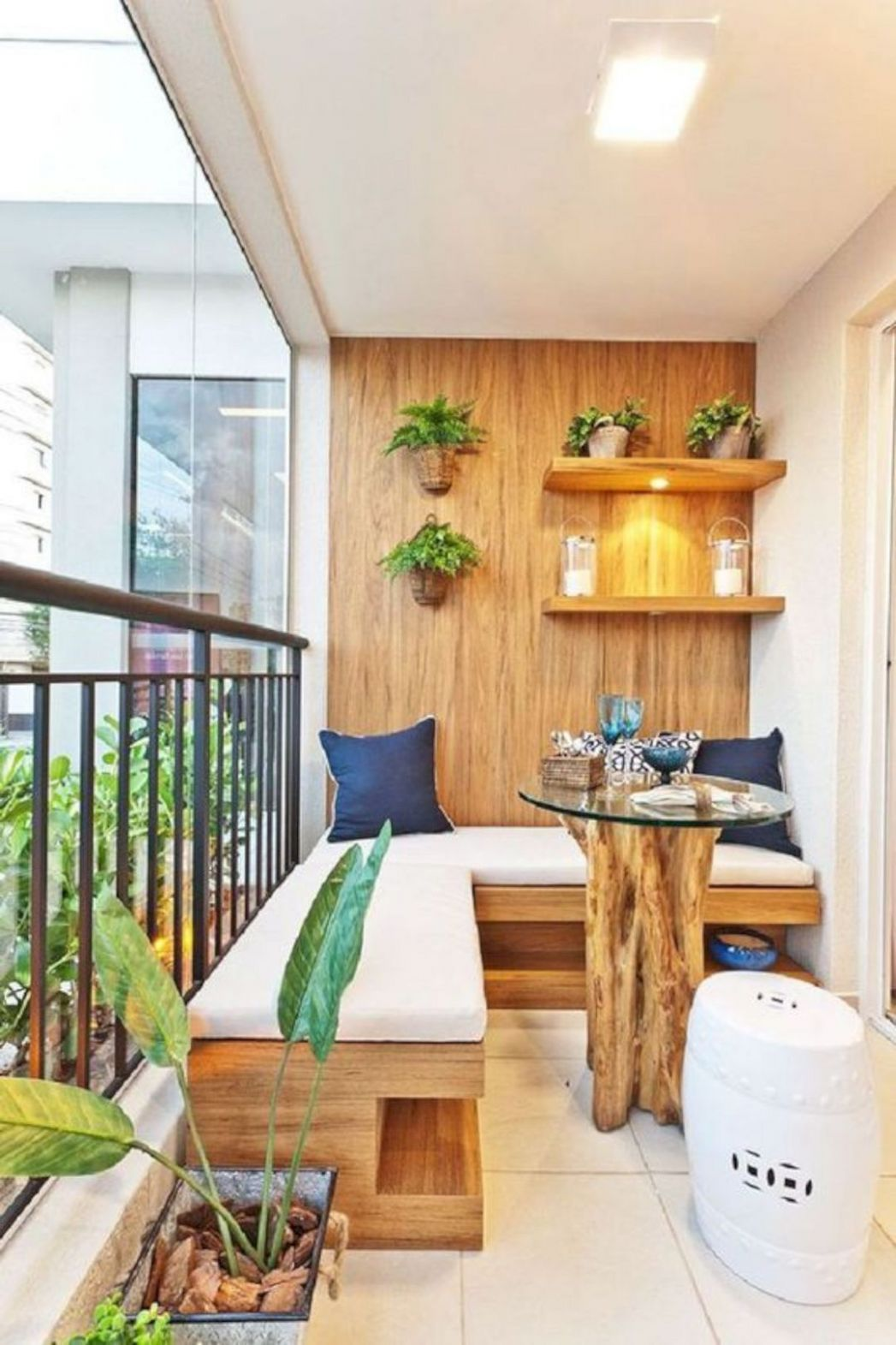 12 Comfy Furniture Ideas to Beautify Your Balcony | Small balcony ..