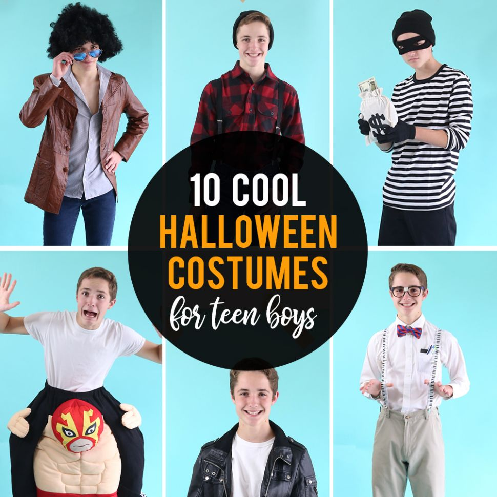 12 cool Halloween costumes for teen boys - It's Always Autumn