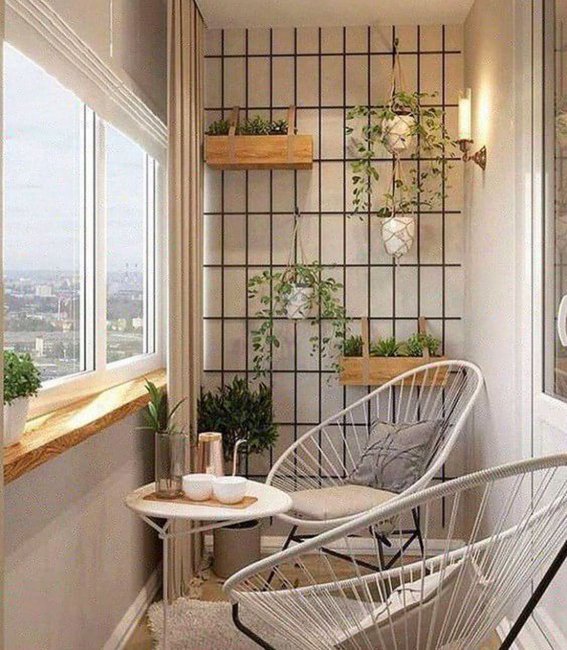 12 cozy and stylish small balcony design ideas 12 ~ feryhan