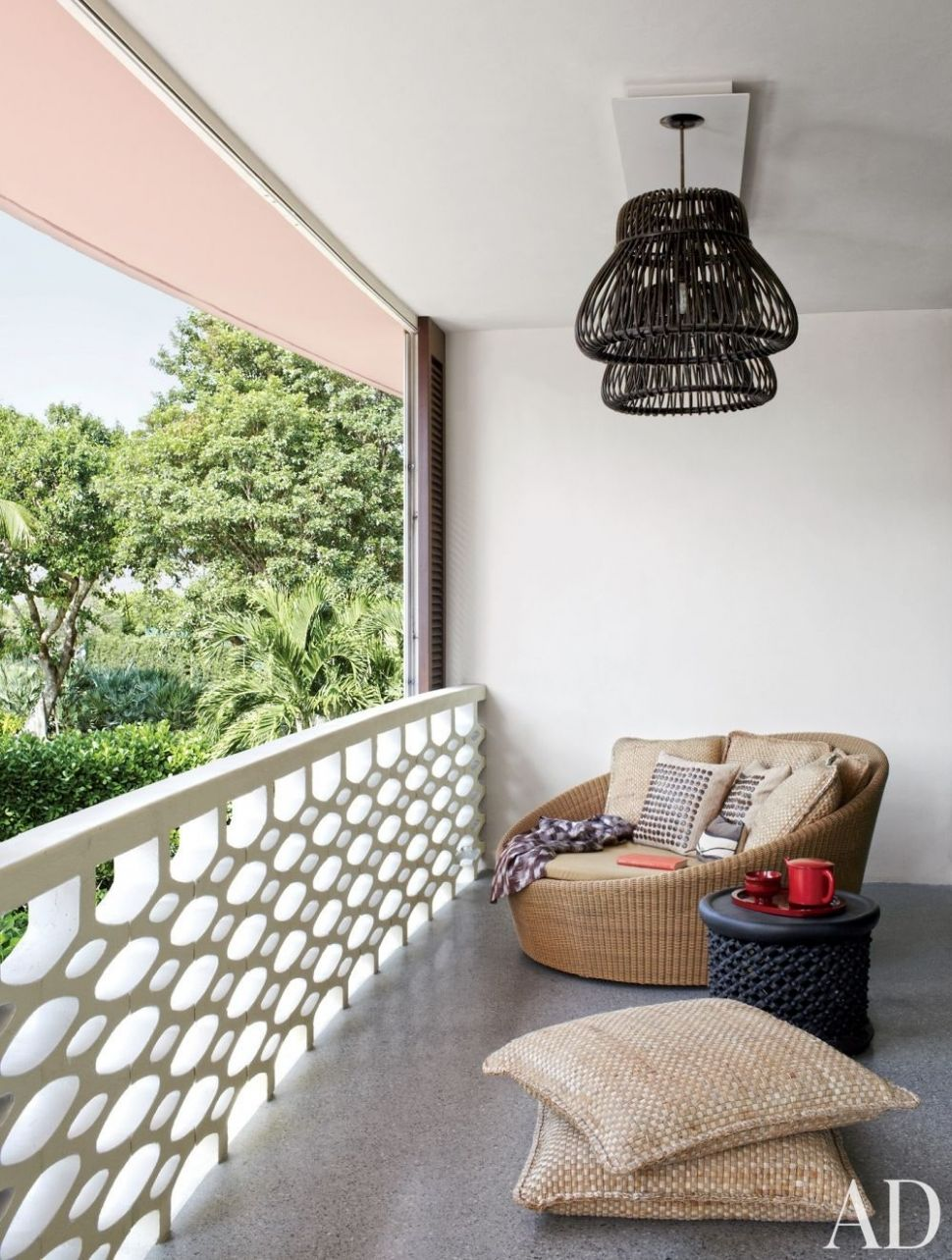 12 Cozy Balcony Ideas and Decor Inspiration | Architectural Digest
