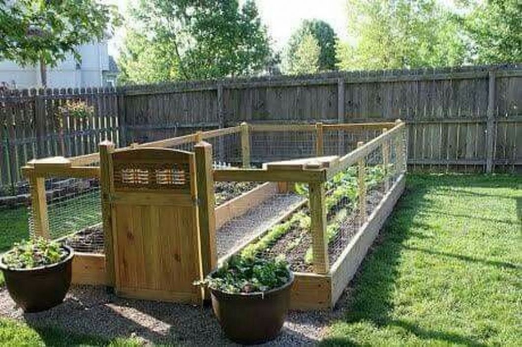 12+ Cozy Small Vegetable Garden Ideas On A Budget - TRENHOMEDE - garden ideas on a budget photos
