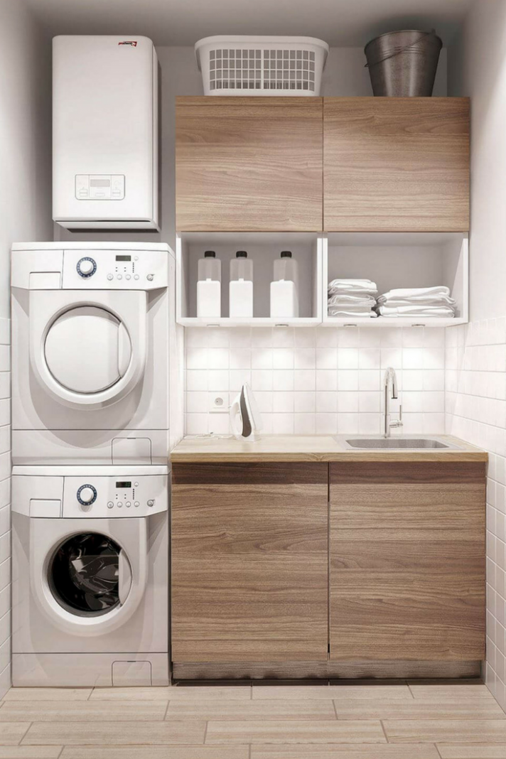 12+ Creative Basement Laundry Room Ideas for Your Home (With ..