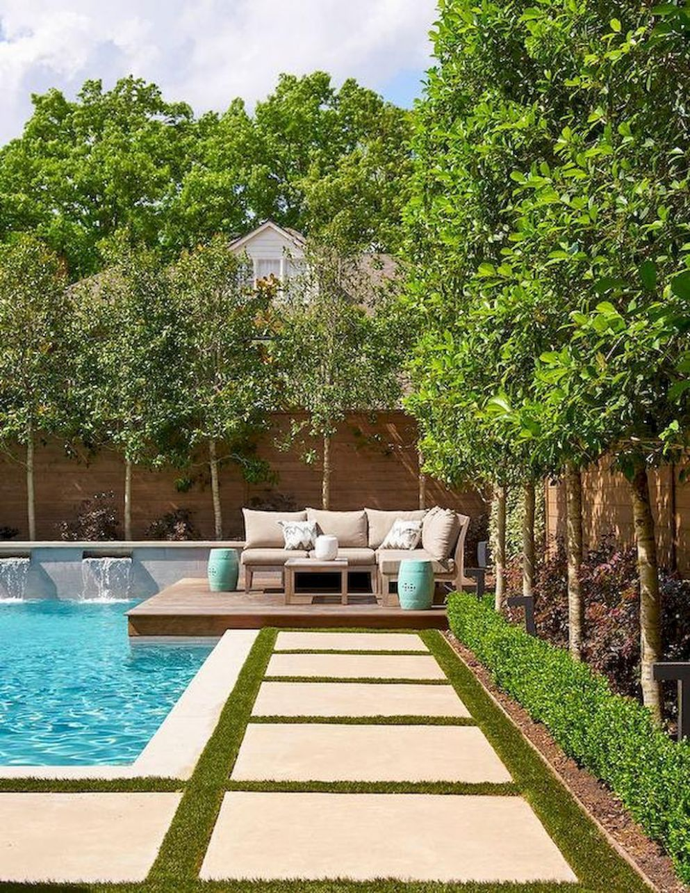 12 Creative DIY Backyard Privacy Ideas On A Budget | Backyard pool ...