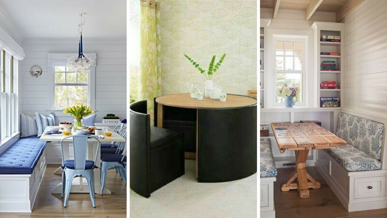 ? 12 Creative Small Dining Room Table Ideas for Limited Space ? - narrow dining room ideas
