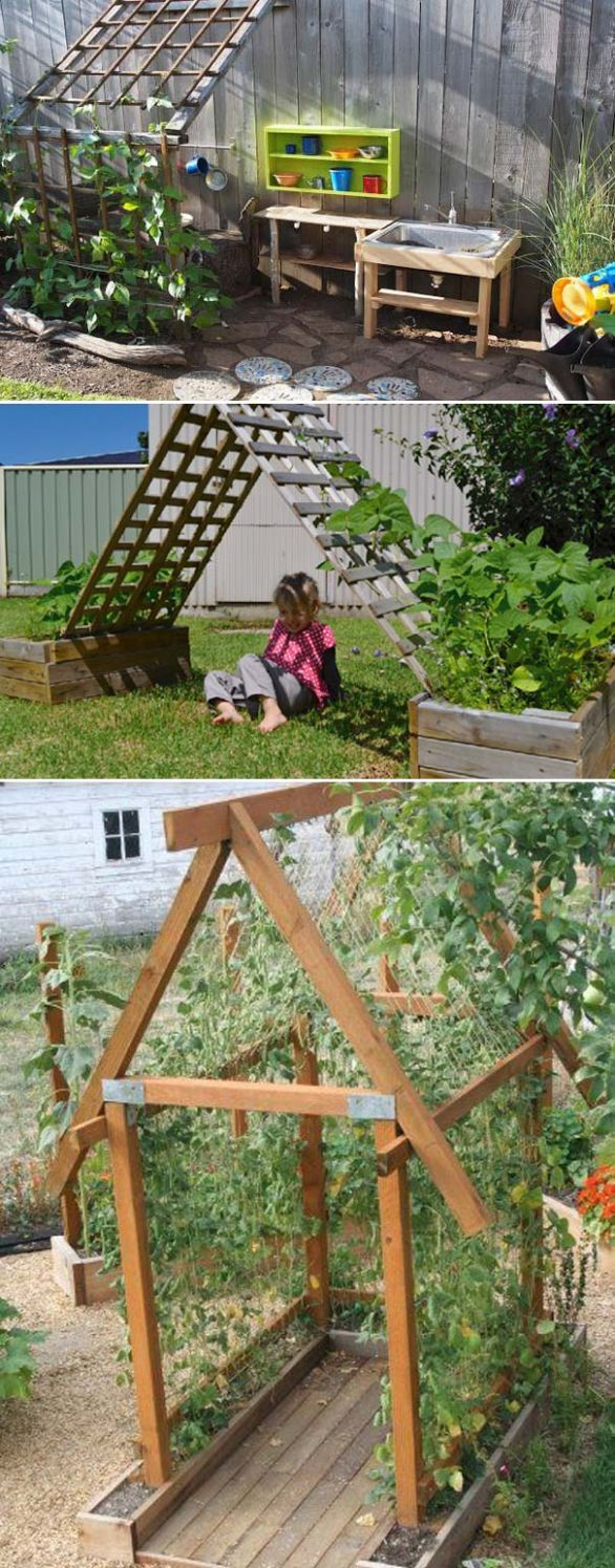 12 Cute and Fun Play Garden Ideas for Kids – LittleProjectforKid - garden ideas for kids
