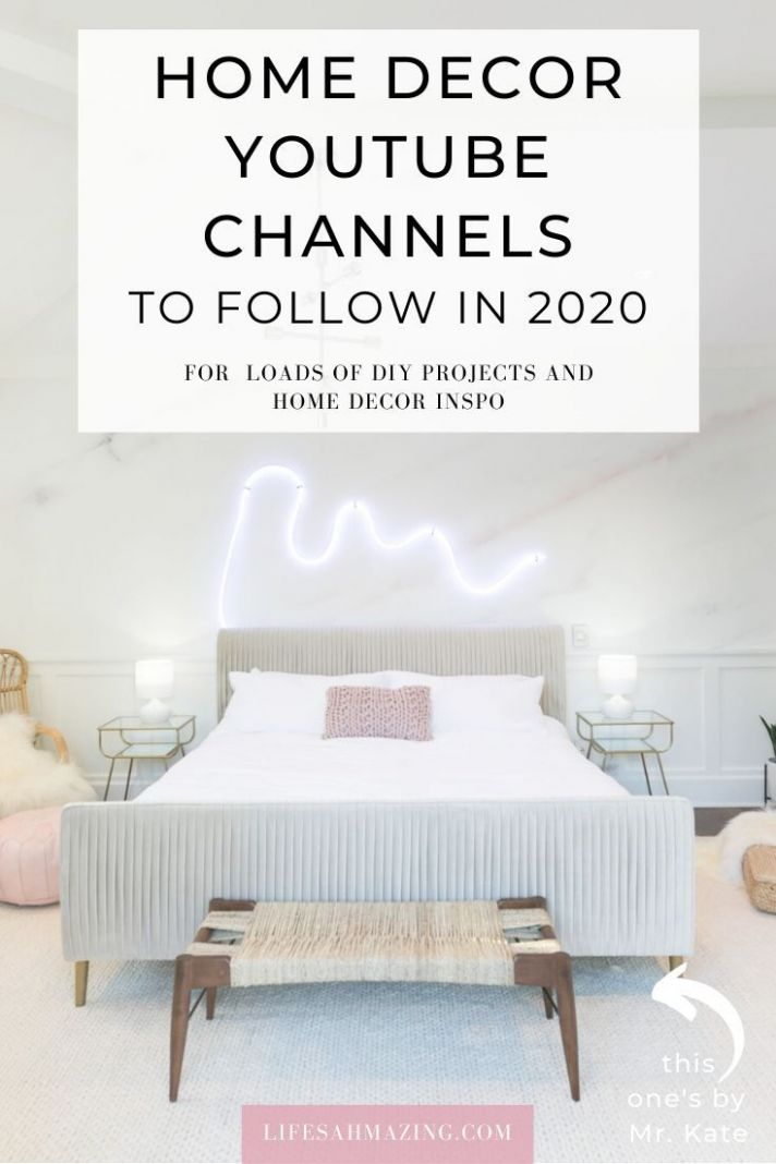 12 DIY and Home Decor YouTube Channels to follow in 12   Home ...