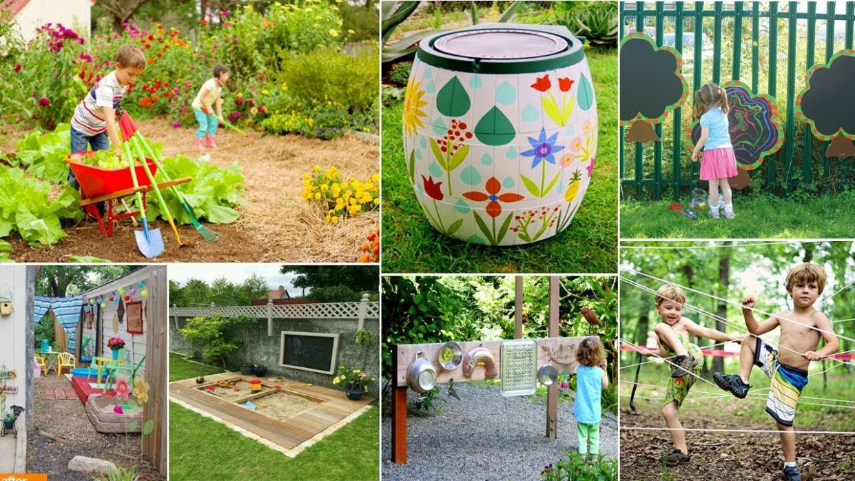 12 DIY garden Ideas kids will love! | DIY Garden - garden ideas for kids