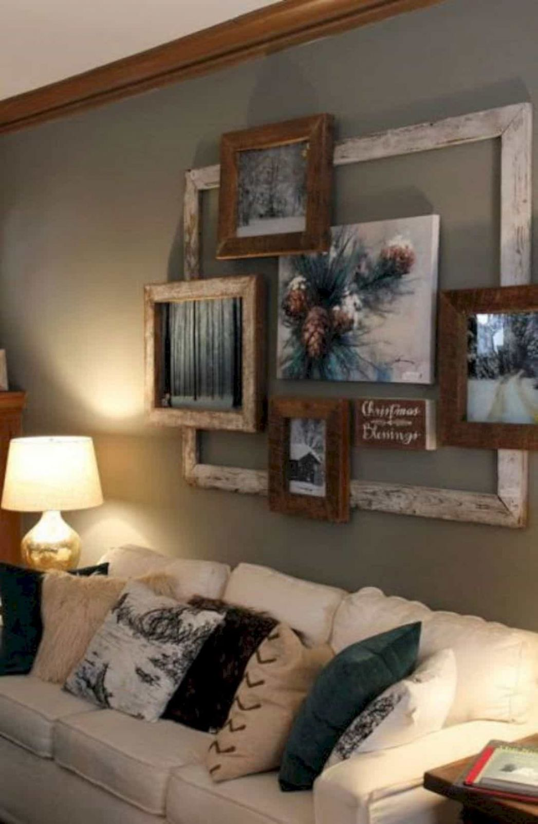 12 DIY Rustic Home Decor Ideas for Living Room - diy home decor room