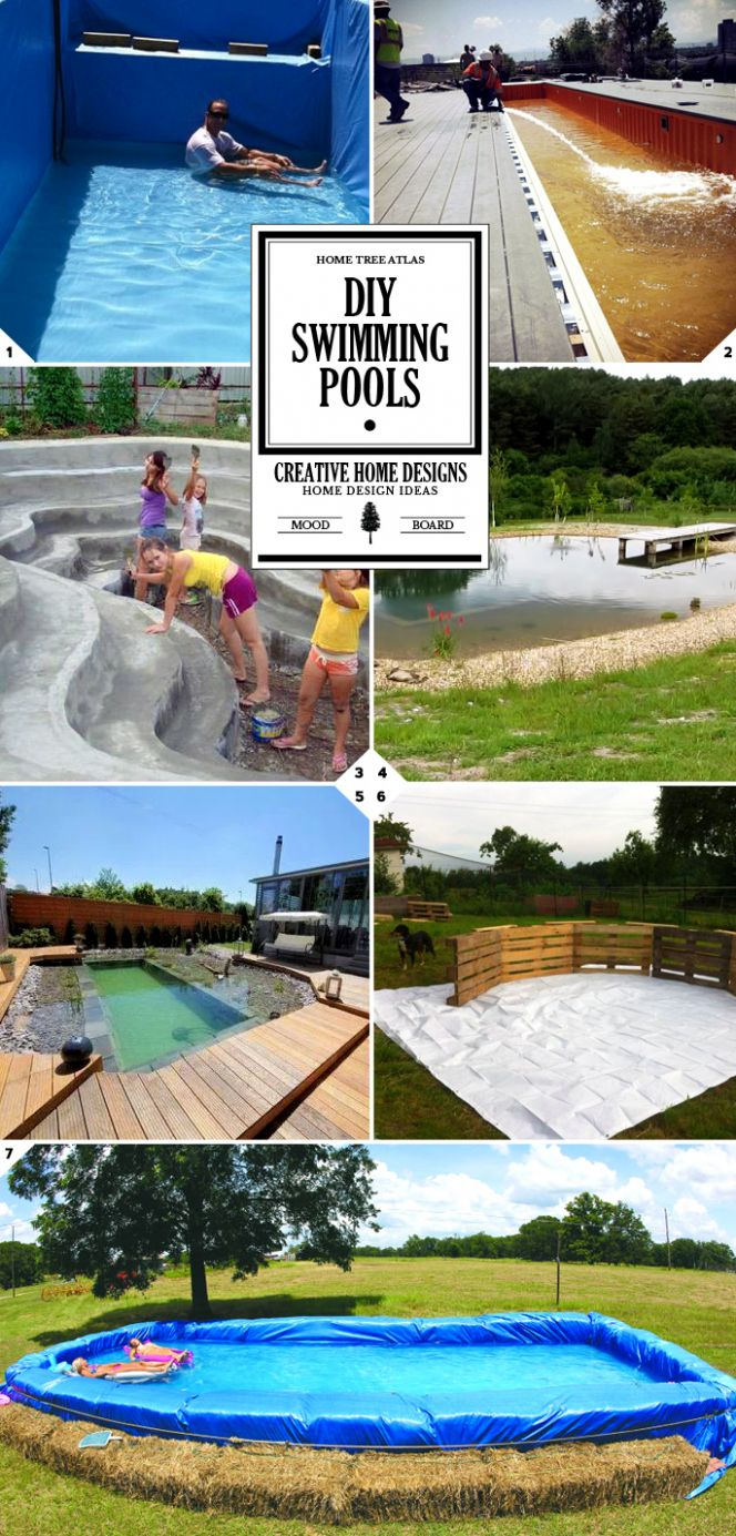 12 DIY Swimming Pool Ideas and Designs: From Big Builds to Weekend ..
