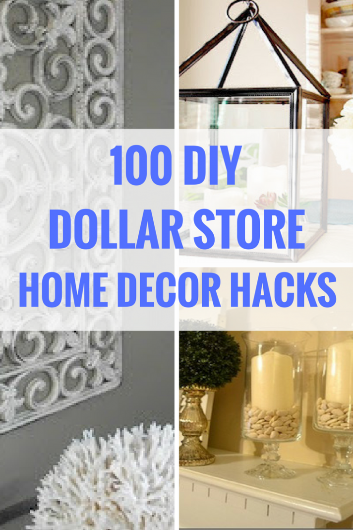 12 Dollar Store DIY Home Decor Ideas | Diy apartment decor, Diy ..