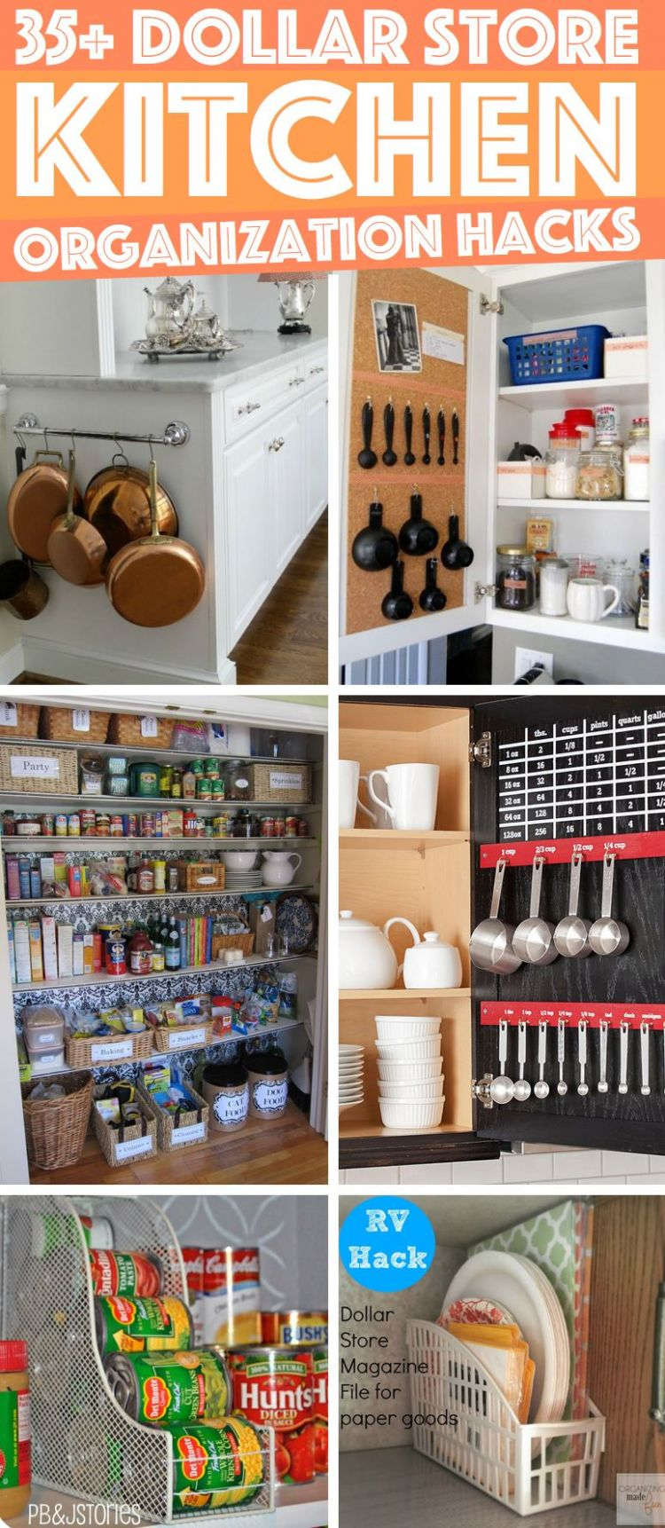 12 Dollar Store Kitchen Organization Hacks You Can Pull Off Like a ...