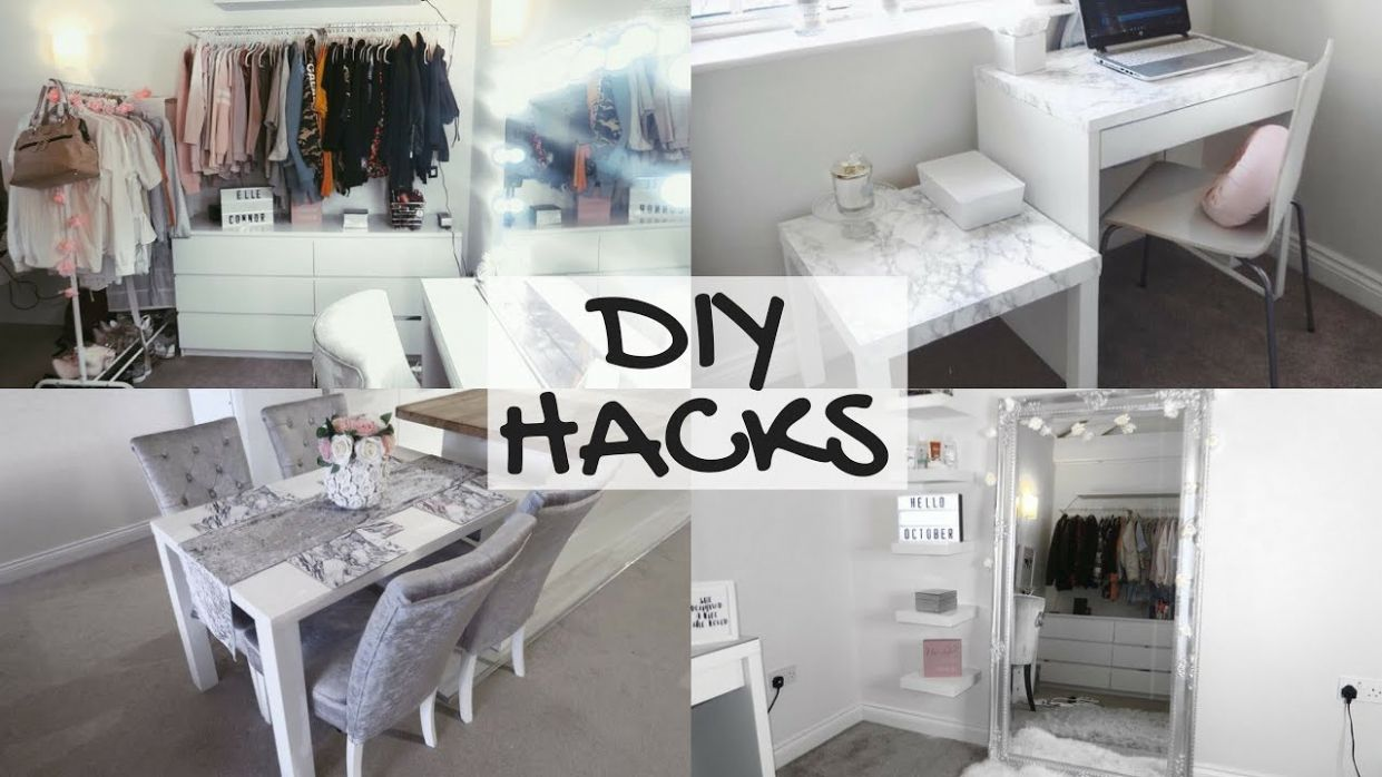 12 EASY & CHEAP DIY HACKS | HOME DECOR - diy home decor room