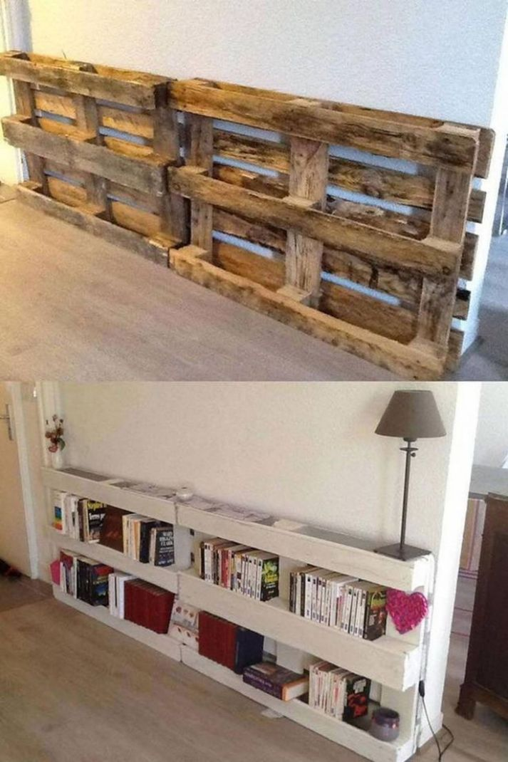 12+ Excellent Ideas With Used Wood Pallets | Diy home decor ..