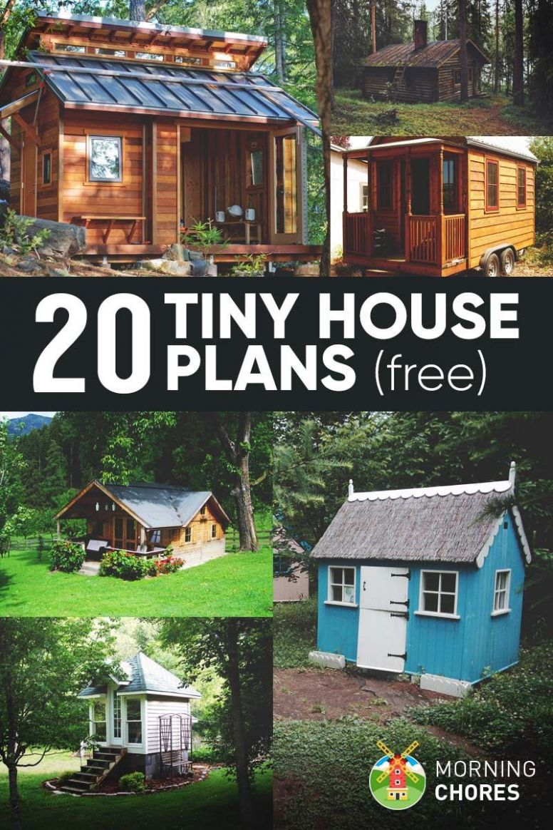12 Free DIY Tiny House Plans to Help You Live the Small & Happy ..