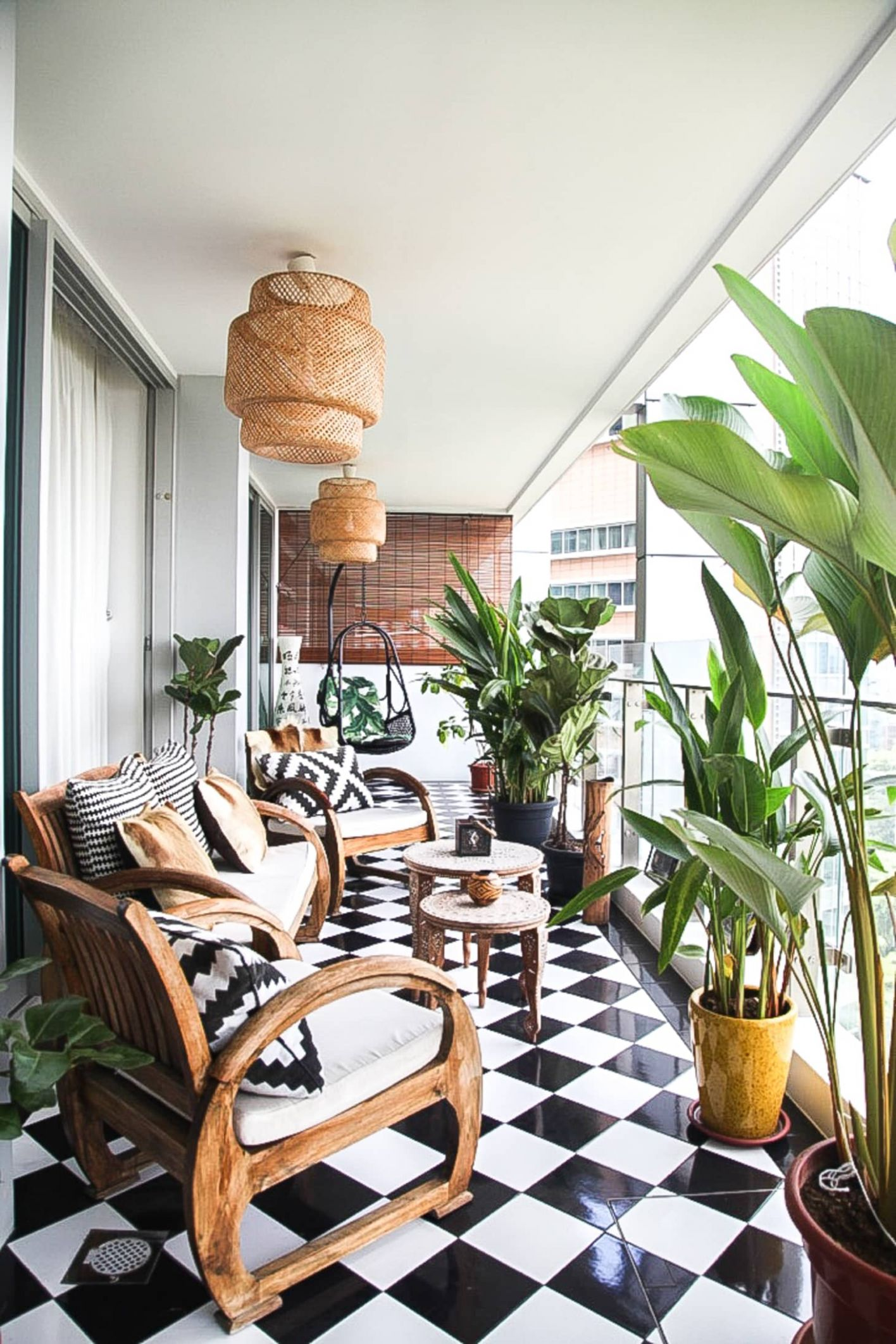 12 Fun Balcony Ideas - How to Decorate a Small Balcony | Apartment ...
